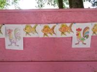 Золотая рыбра и петушок группа 5