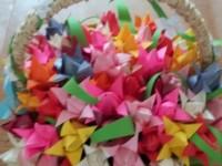 корзина с цветами группа 10